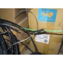 Оптический кабель Б/У для внешней прокладки (с металлическим тросом) в Находке, оптокабель БУ (Находка)