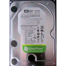 Б/У жёсткий диск 1Tb Western Digital WD10EVVS Green (WD AV-GP 1000 GB) 5400 rpm SATA (Находка)