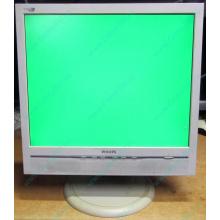 """Б/У монитор 17"""" Philips 170B с колонками и USB-хабом в Находке, белый (Находка)"""