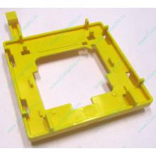 Жёлтый держатель-фиксатор HP 279681-001 для крепления CPU socket 604 к радиатору (Находка)