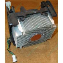 Кулер для процессоров socket 478 с медным сердечником внутри алюминиевого радиатора Б/У (Находка)