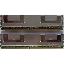 Серверная память 1024Mb (1Gb) DDR2 ECC FB Hynix PC2-5300F (Находка)